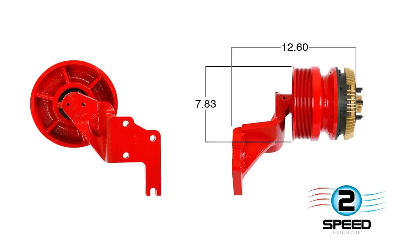 hight resolution of 2 speed cummins fan clutch