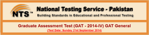 Graduate Assessment Test GAT - 2014-lV General Eligibility Schedule Application FormGraduate Assessment Test GAT - 2014-lV General Eligibility Schedule Application Form