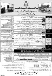 Join Pakistan PAF Jobs 2015 Eligibility Criteria Online Apply As Provost, Aero Trade GC As Education Instructors, Religious Teacher GC Lady Nurse
