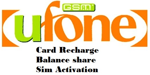 How We Check Ufone Balance Share Card Recharge SIM Activation Inquiry