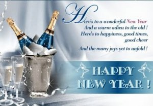 Happy New Year Celebration Greetings & Wishes