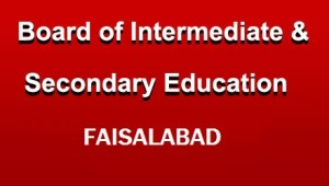Bise Faisalabad Intermediate 12th Class Result 2020 bisefsd Board 12th Result 2020