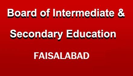 PEC Faisalabad Board 8th Class Date Sheet 2021 Punjab Examination Commission