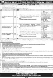 Faisalabad FESCO Jobs 2015 NTS Test Application Form Online Dates and Schedule Eligibility