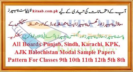 Punjab Inter Part I History of Islam Inter Guess Papers FA FSc 11th Download Model Papers Free