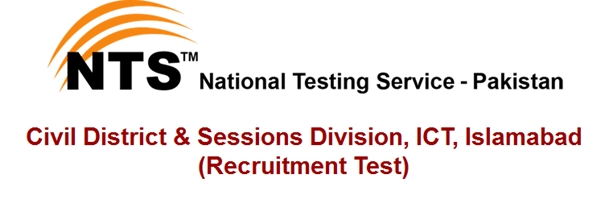 Civil District & Sessions Division, ICT, Islamabad Jobs 2021 NTS Test Interview Schedule