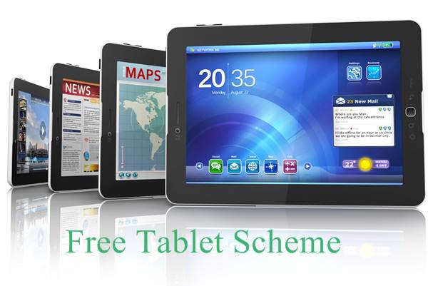 Punjab Free Tablet Distribution Scheme 2016 For 60000 Science Teacher