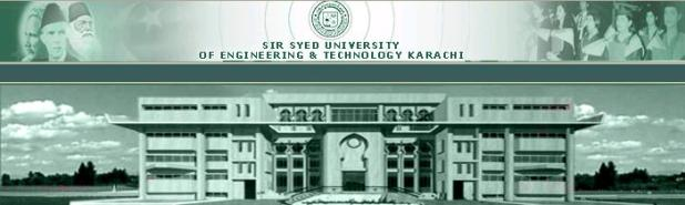 Sir Syed University of Engineering & Technology Admission 2015 Eligibility Criteria Form Download