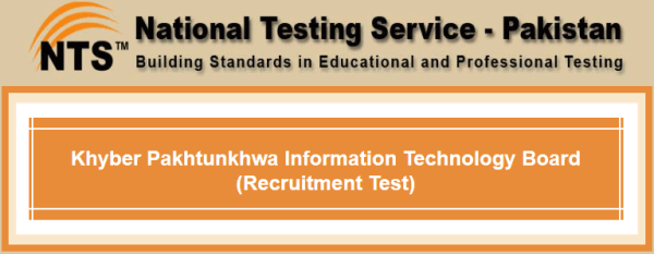 KPITB Khyber Pakhtunkhwa Information Technology Board NTS Test 2015 Answer Key Result Online Merit Lists