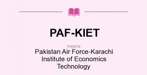 Karachi Institute of Economics and Technology PAF-KIET Karachi Admission 2017 in Electrical Mechanical Civil Application Form Procedure to Apply Engineering College in Sindh