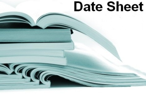 Bise Sargodha Board Supply Date Sheet 9th/10th/11th/12th Class bisesargodha Inter/Matric Supplementary Exams
