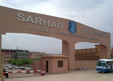 Sarhad University of Science and Technology Peshawar Admission 2017 in Engineering Eligibility Criteria Dates