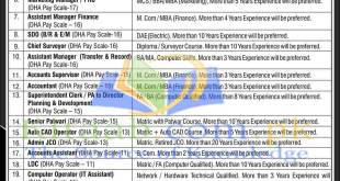 Defence Housing Authority Bahawalpur Pakistan Jobs December 2021 Form Download Eligibility Criteria Dates