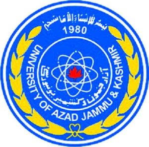 AJK University Azad jammu Kashmir Admission 2017 For MA MSc Online Registration Procedure Dates and Schedule