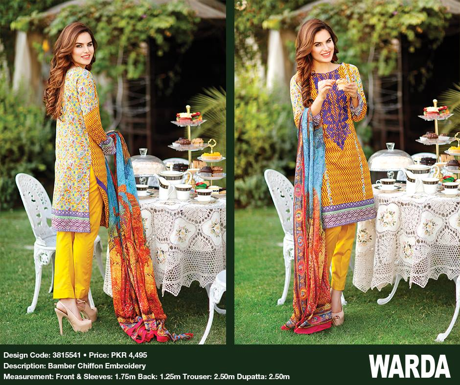warda women It is a fantastic news that warda lawn prints for summer season 2017 has been released this collection is based on the latest and most admired styles of cl.