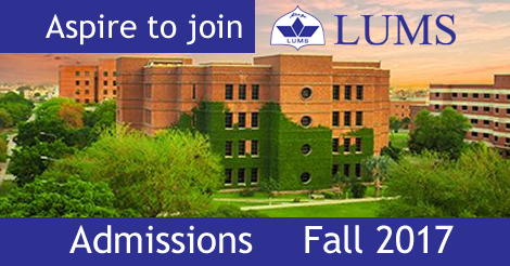 LUMS-LHR-EDU Lahore University Of Management Sciences Lahore MS M.PHIL Admissions Fall 2017 Graduate Programs Application Form Test Dates and Schedule
