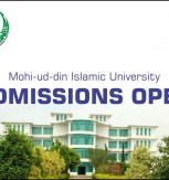 Mohi-ud-Din Islamic University MBBS Admission 2018 Entry Test Dates & Schedule Eligibility