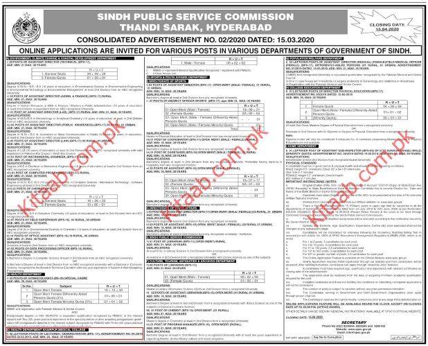 Khairpur Medical College Jobs 2020 Application Form Roll Number Slip Answer Key