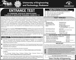 University of Engineering and Technology UET Admission 2019 Application Form Eligibility Criteria Last Date Fee Structure