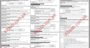 Latest SPSC Jobs 2021 in Pakistan Sindh Public Service Commission Apply Online