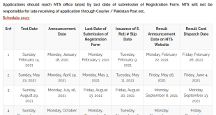 Graduate Assessment Test NTS GAT Subject Answer Key Result 2021 II Merit List Successful Candidates