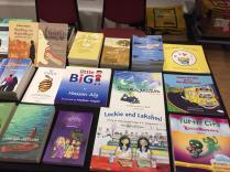 Kitaab books at the Singlit Station
