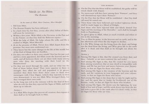 Holy Qur'an Translation By Abdullah Yusuf Ali. PB, ENGLISH ONLY