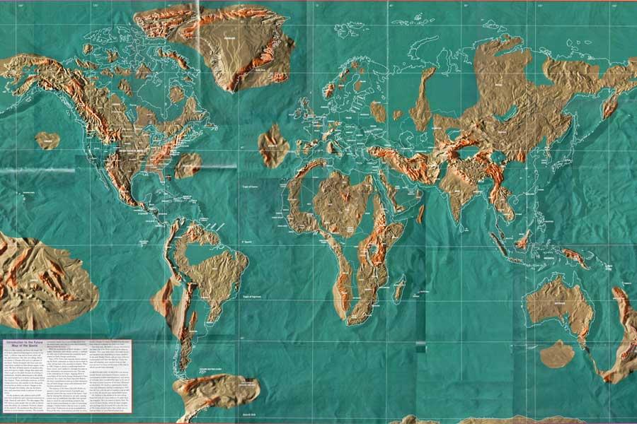Peta Dunia Sesudah Hari Kiamat dan Rencana Pelarian Para Bilyuner