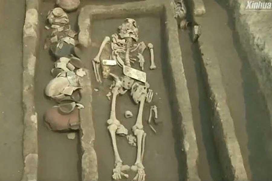 Sisa Kerangka Raksasa Ditemukan di China, Bukti Eksistensi Nephilim di Alkitab