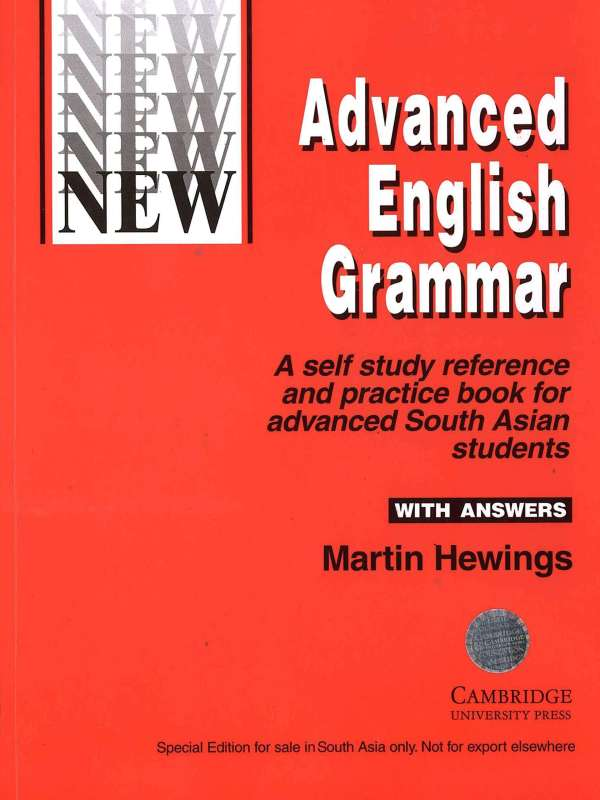 Cambridge Advanced English Grammar (With Answers) : Martin Hewings