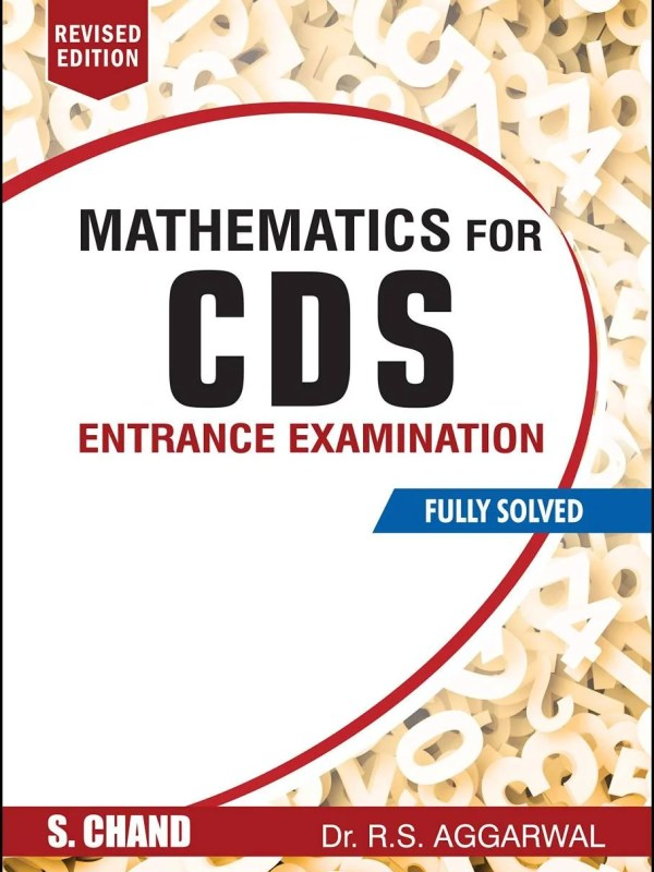 Schand Maths for CDS : RS Aggarwal