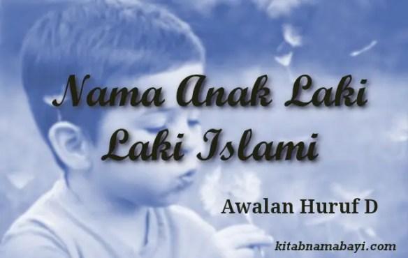 nama anak laki laki islami awalan d