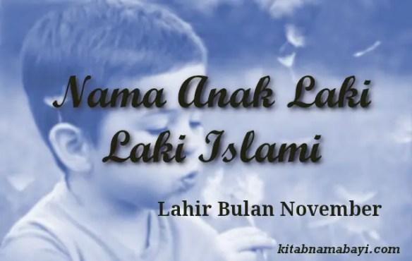 nama anak laki laki islami bulan november
