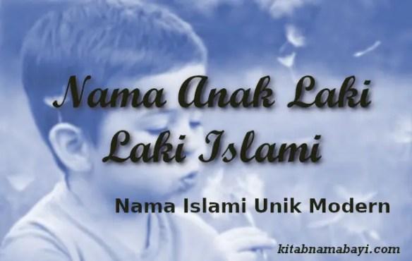 Nama Anak Laki-Laki Islami Unik Modern