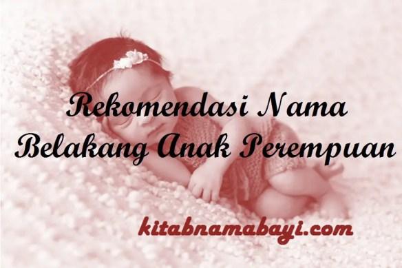 Nama Belakang Anak Perempuan