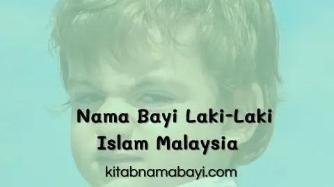 Nama Bayi Laki-Laki Muslim Melayu