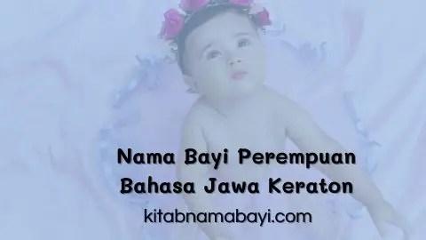 Nama Bayi Perempuan Jawa Keraton