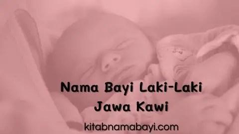 nama bayi laki-laki jawa kawi