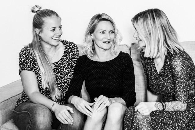 Tanja Blättler,  Julia Wegner, Rahel Stocker