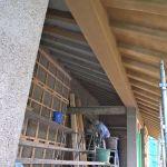「土蔵の家」中塗り土仕上げ