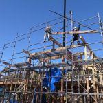 「縣の家」建て方