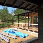 「森の見える家」仕上げ工事2