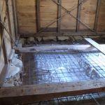 「松本の土蔵」改修工事 基礎補強