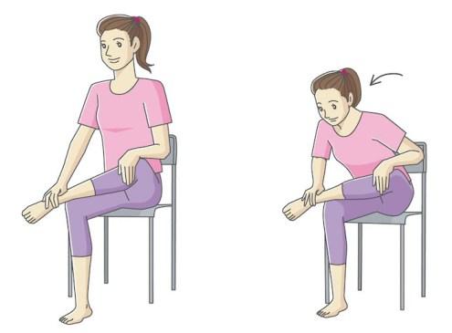 梨状筋という筋肉のストレッチ