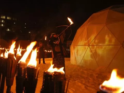 アイヌ民族 火の儀式