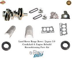 Jaguar 3.0 Forged Vilebrequin 306dt Range Rover Engine