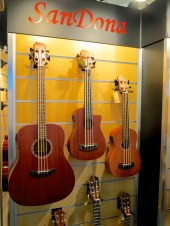 MM 2015 – SanDona basses with silicon strings