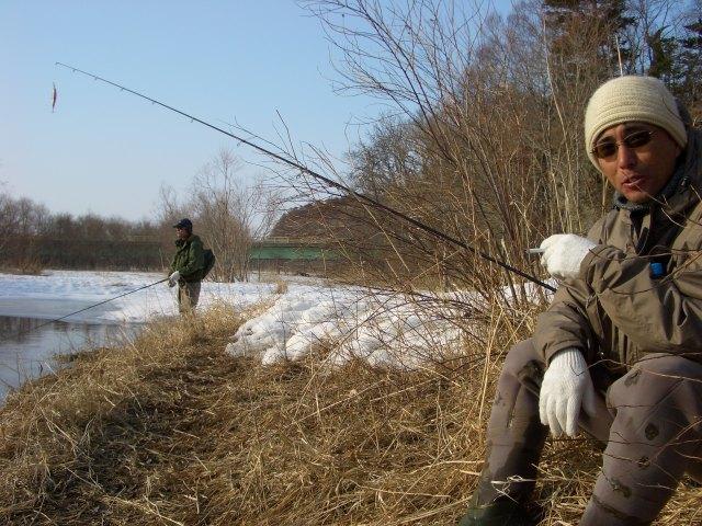 イトウを求めて湿原釣行!