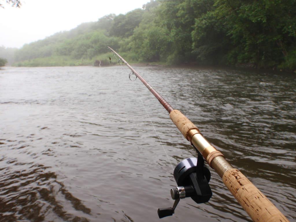雨のアメマス釣行!ABU506!