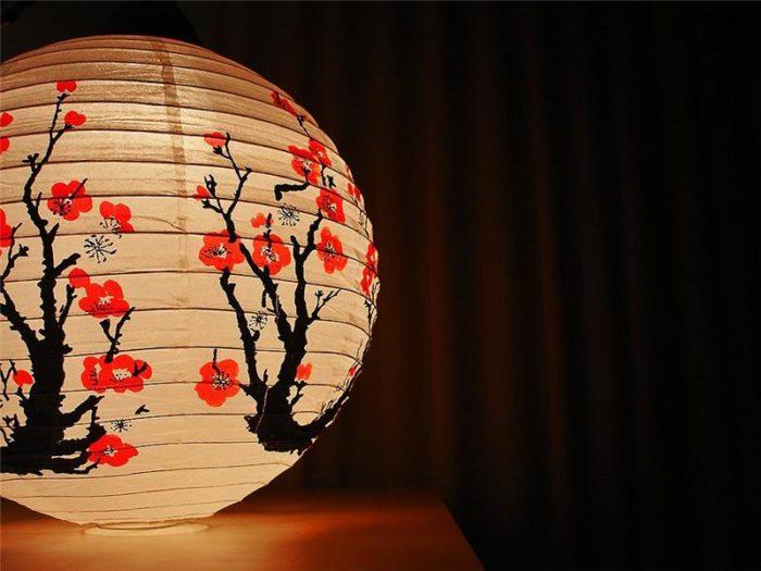 Kinesisk lanterne.